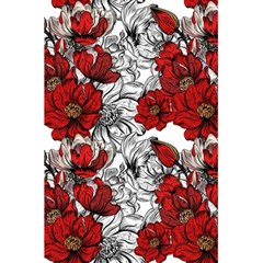 Hand Drawn Red Flowers Pattern 5 5  X 8 5  Notebooks by TastefulDesigns