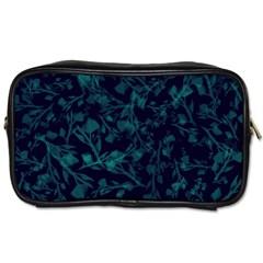 Leaf Pattern Toiletries Bags 2 Side by berwies