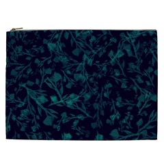 Leaf Pattern Cosmetic Bag (xxl)  by berwies