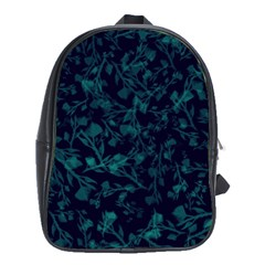 Leaf Pattern School Bags (xl)  by berwies