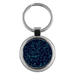Leaf Pattern Key Chains (round)  by berwies