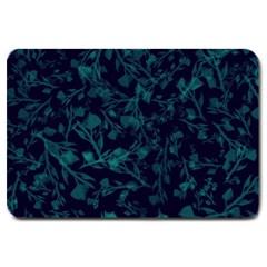Leaf Pattern Large Doormat  by berwies