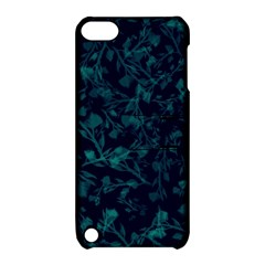 Leaf Pattern Apple Ipod Touch 5 Hardshell Case With Stand by berwies