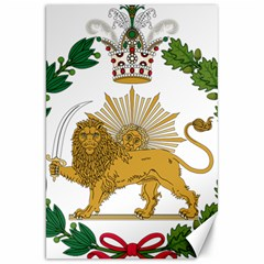 Imperial Coat Of Arms Of Persia (iran), 1907 1925 Canvas 20  X 30   by abbeyz71