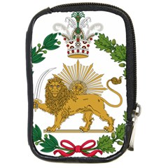 Imperial Coat Of Arms Of Persia (iran), 1907 1925 Compact Camera Cases by abbeyz71