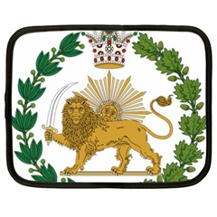 Imperial Coat Of Arms Of Persia (iran), 1907 1925 Netbook Case (xxl)  by abbeyz71
