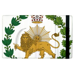 Imperial Coat Of Arms Of Persia (iran), 1907 1925 Apple Ipad 2 Flip Case by abbeyz71