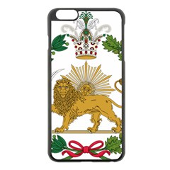 Imperial Coat Of Arms Of Persia (iran), 1907 1925 Apple Iphone 6 Plus/6s Plus Black Enamel Case by abbeyz71