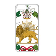 Imperial Coat Of Arms Of Persia (iran), 1907 1925 Apple Iphone 7 Plus White Seamless Case by abbeyz71