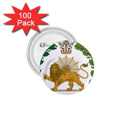 Imperial Coat Of Arms Of Persia (iran), 1907 1925 1 75  Buttons (100 Pack)  by abbeyz71