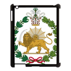 Imperial Coat Of Arms Of Persia (iran), 1907 1925 Apple Ipad 3/4 Case (black) by abbeyz71