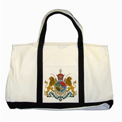 Sovereign Coat Of Arms Of Iran (order Of Pahlavi), 1932 1979 Two Tone Tote Bag by abbeyz71