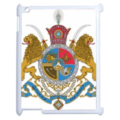 Sovereign Coat Of Arms Of Iran (order Of Pahlavi), 1932 1979 Apple Ipad 2 Case (white) by abbeyz71