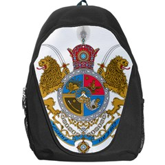 Sovereign Coat Of Arms Of Iran (order Of Pahlavi), 1932 1979 Backpack Bag by abbeyz71