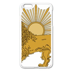 National Emblem Of Iran, Provisional Government Of Iran, 1979 1980 Apple Iphone 6 Plus/6s Plus Enamel White Case by abbeyz71