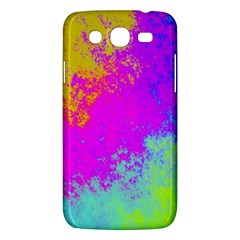 Grunge Radial Gradients Red Yellow Pink Cyan Green Samsung Galaxy Mega 5 8 I9152 Hardshell Case  by EDDArt