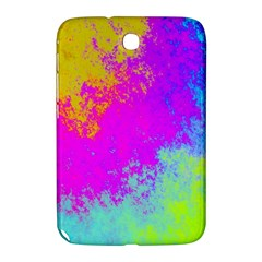 Grunge Radial Gradients Red Yellow Pink Cyan Green Samsung Galaxy Note 8 0 N5100 Hardshell Case  by EDDArt