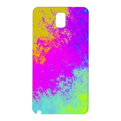 Grunge Radial Gradients Red Yellow Pink Cyan Green Samsung Galaxy Note 3 N9005 Hardshell Back Case by EDDArt
