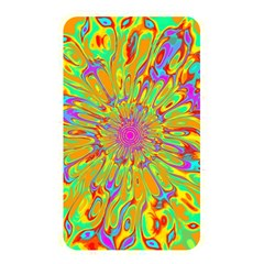 Magic Ripples Flower Power Mandala Neon Colored Memory Card Reader by EDDArt