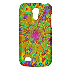 Magic Ripples Flower Power Mandala Neon Colored Galaxy S4 Mini by EDDArt