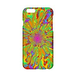 Magic Ripples Flower Power Mandala Neon Colored Apple Iphone 6/6s Hardshell Case by EDDArt