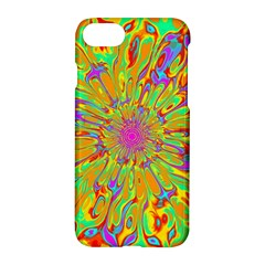 Magic Ripples Flower Power Mandala Neon Colored Apple Iphone 7 Hardshell Case