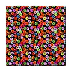 Colorful Yummy Donuts Pattern Tile Coasters by EDDArt