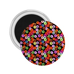 Colorful Yummy Donuts Pattern 2 25  Magnets by EDDArt