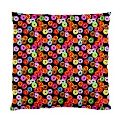 Colorful Yummy Donuts Pattern Standard Cushion Case (two Sides) by EDDArt