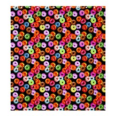 Colorful Yummy Donuts Pattern Shower Curtain 66  X 72  (large)  by EDDArt