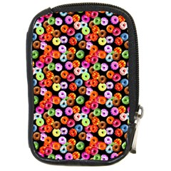 Colorful Yummy Donuts Pattern Compact Camera Cases by EDDArt
