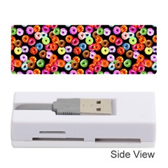 Colorful Yummy Donuts Pattern Memory Card Reader (stick)  by EDDArt