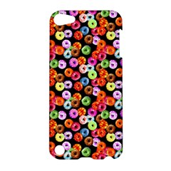 Colorful Yummy Donuts Pattern Apple Ipod Touch 5 Hardshell Case by EDDArt