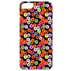 Colorful Yummy Donuts Pattern Apple Iphone 5 Classic Hardshell Case by EDDArt