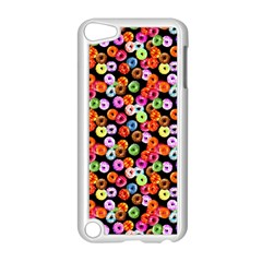 Colorful Yummy Donuts Pattern Apple Ipod Touch 5 Case (white) by EDDArt