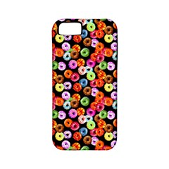 Colorful Yummy Donuts Pattern Apple Iphone 5 Classic Hardshell Case (pc+silicone) by EDDArt