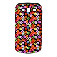 Colorful Yummy Donuts Pattern Samsung Galaxy S Iii Classic Hardshell Case (pc+silicone) by EDDArt