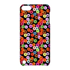 Colorful Yummy Donuts Pattern Apple Ipod Touch 5 Hardshell Case With Stand by EDDArt