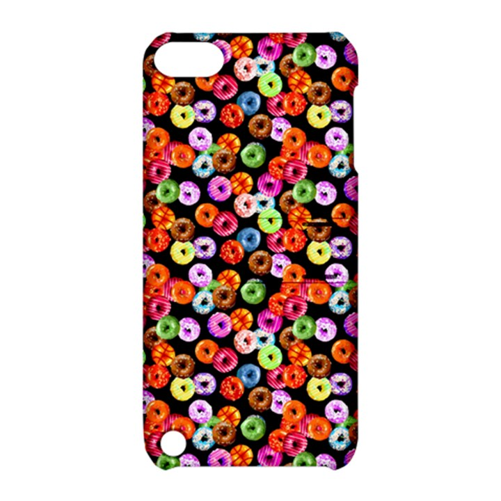Colorful Yummy Donuts Pattern Apple iPod Touch 5 Hardshell Case with Stand