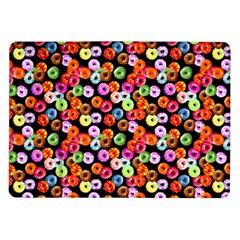 Colorful Yummy Donuts Pattern Samsung Galaxy Tab 10 1  P7500 Flip Case by EDDArt