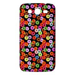 Colorful Yummy Donuts Pattern Samsung Galaxy Mega 5 8 I9152 Hardshell Case  by EDDArt