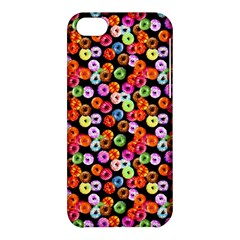 Colorful Yummy Donuts Pattern Apple Iphone 5c Hardshell Case by EDDArt