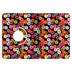 Colorful Yummy Donuts Pattern Kindle Fire Hdx Flip 360 Case by EDDArt