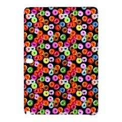 Colorful Yummy Donuts Pattern Samsung Galaxy Tab Pro 10 1 Hardshell Case by EDDArt