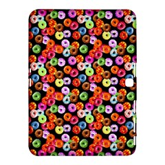 Colorful Yummy Donuts Pattern Samsung Galaxy Tab 4 (10 1 ) Hardshell Case