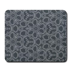 Floral Pattern Large Mousepads by Valentinaart