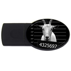 Criminal Goat  Usb Flash Drive Oval (4 Gb) by Valentinaart