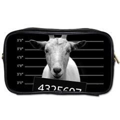 Criminal Goat  Toiletries Bags 2 Side by Valentinaart