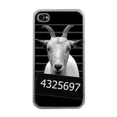 Criminal Goat  Apple Iphone 4 Case (clear) by Valentinaart