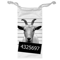 Criminal Goat  Jewelry Bag by Valentinaart